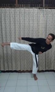 Yusmardi Yasni Karate Kick